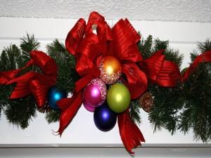 Atractivo adorno para las fiestas navideñas