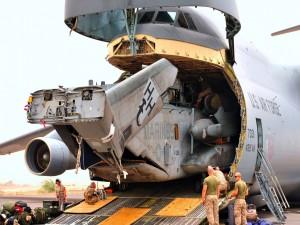 Aeronave de transporte militar