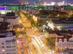 Vista de la ciudad desde lo alto