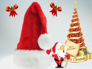 """Santa te desea una """"Feliz Navidad"""""""