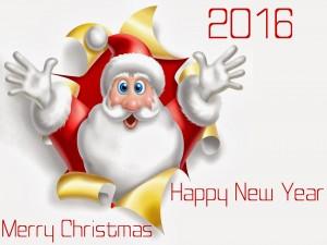¡Feliz Navidad y Año Nuevo 2016!