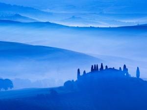 Niebla en las colinas