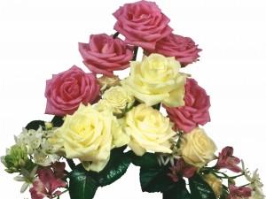 Delicado ramo de flores