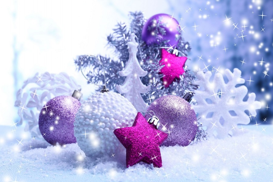 Bonita decoración para las fiestas navideñas