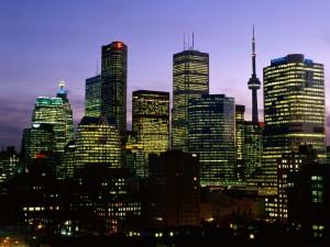 Amanecer en Toronto