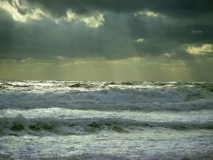 Oleaje en el mar