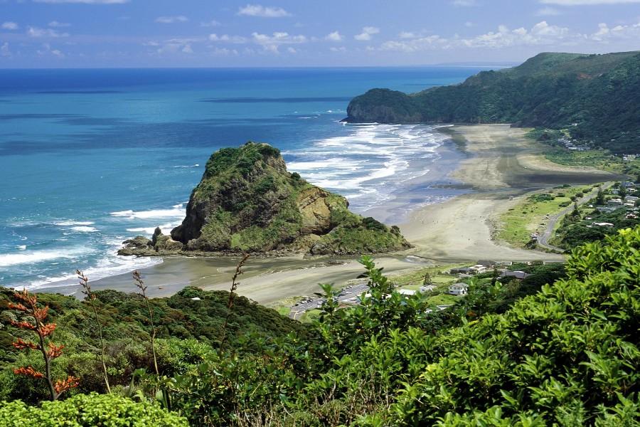 Playa Piha (Nueva Zelanda)