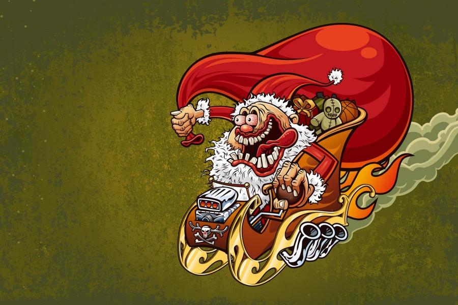 Un divertido Santa Claus