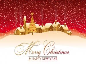 Felicitación de Navidad y Año Nuevo