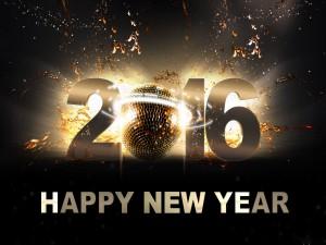 Festejando el Año 2016 con alegría