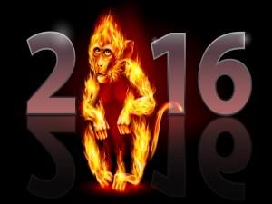 2016 es el Año del Mono Rojo de Fuego
