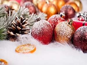 Elementos decorativos de Navidad