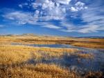 Lago en Lower Klamath National Wildlife Refuge (California)