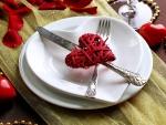Corazón entre el cuchillo y el tenedor
