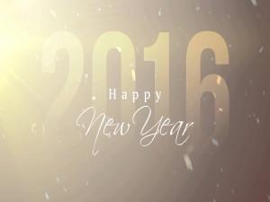 Que tengan un gran Año Nuevo 2016