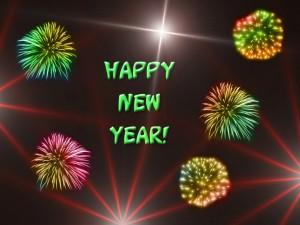 Feliz Año Nuevo 2016 entre fuegos artificiales