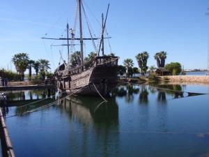 Muelle de las Carabelas (La Rábida, Huelva)