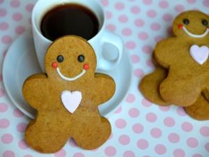 Simpáticas galletas de navidad