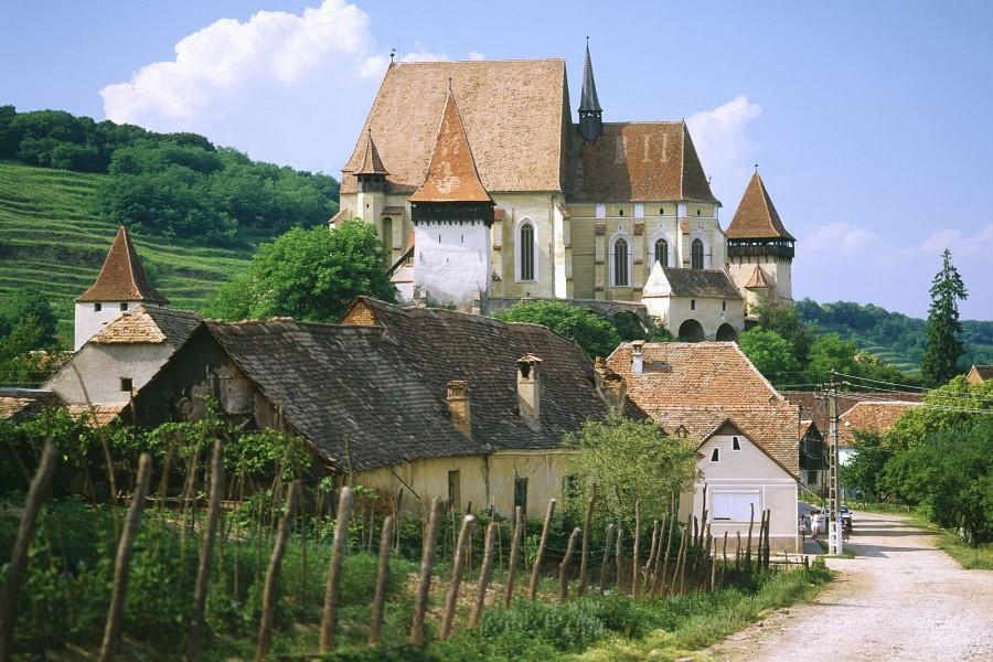 Iglesia fortificada de Biertan (Rumanía)