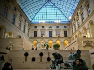 Sala del Museo del Louvre (Francia)