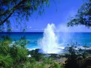 Spouting Horn (Kauai, Hawái)