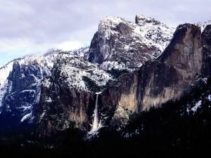 Nieve en el Parque Nacional de Yosemite