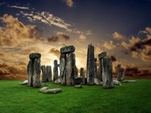 Amanece en Stonehenge