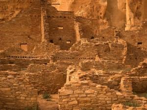 Pueblo Bonito (Cañón del Chaco, Nuevo México)