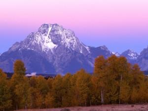 Amanece en el Parque Nacional Grand Teton