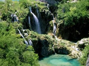 Parque Nacional de los Lagos de Plitvice (Croacia)