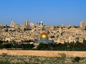 Vista de la ciudad de Jerusalén (Israel)