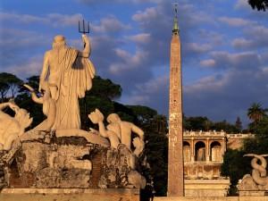 La Piazza del Popolo (Roma)