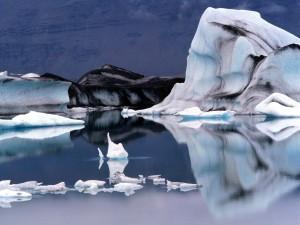 Lago glaciar Jökulsárlón, Islandia