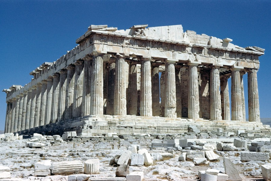 El Partenón (Acrópolis de Atenas)