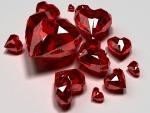 Deslumbrantes corazones de piedra