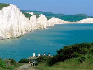 Acantilados Seven Sisters (Sussex, Reino Unido)