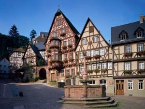 Casas de Schnatterloch (Miltenberg, Baviera)