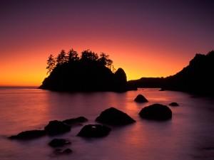 Hermoso amanecer