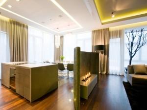 Romántico y moderno apartamento