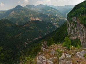 Bonitas vistas de las montañas