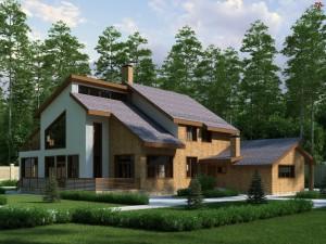 Elegante y moderna casa