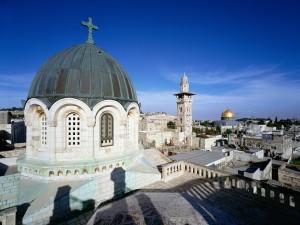 Tejados de la ciudad de Jerusalén