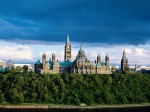 Vista del Parlamento de Ontario