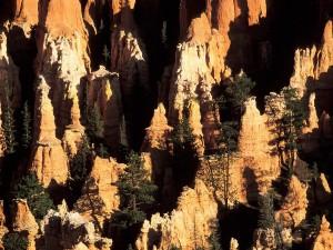 Chimenea de hadas en el Parque Nacional del Cañón Bryce, Utah