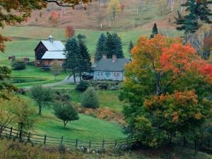 Otoño en Woodstock, Vermont