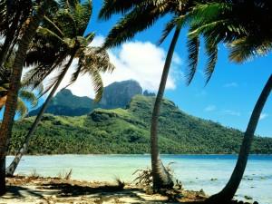 Playa en Bora Bora