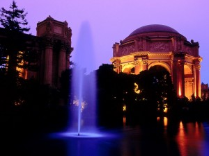 Fuente junto al Palace of Fine Arts (San Francisco)