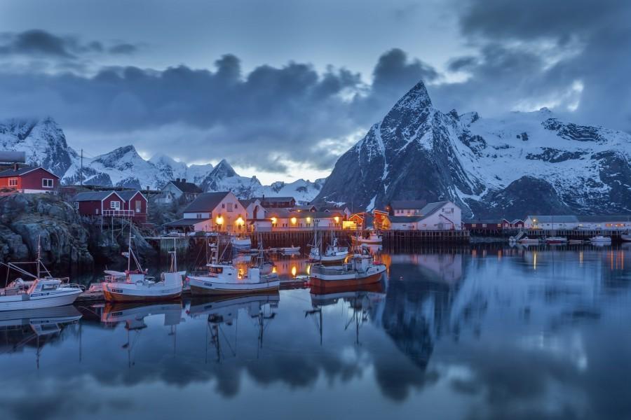 Puerto en Noruega