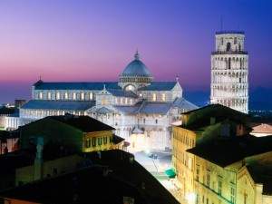 Plaza del Duomo de Pisa (Italia)