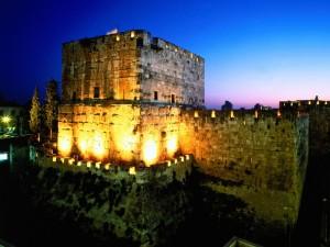 Amanece en Israel